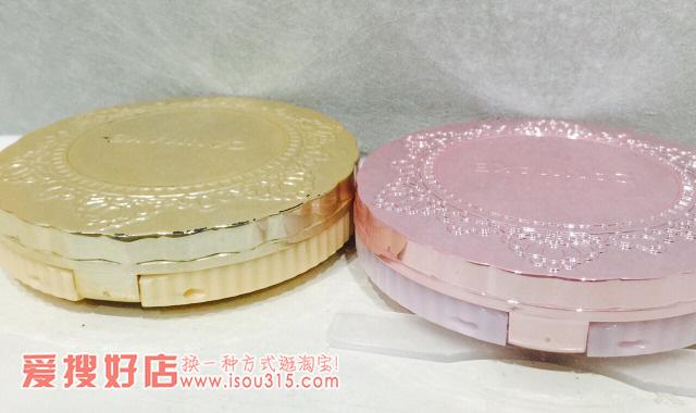 Canmake棉花糖粉饼真假对比辨别方法